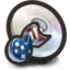 64x64px size png icon of American Music cd