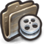64x64px size png icon of Film Reels That Look Like the Innards of a Tire