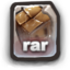 64x64px size png icon of RAR