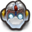 64x64px size png icon of Robo DuckMonkey With Horns