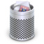 64x64px size png icon of Dock Full Trash Alt