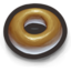 64x64px size png icon of Donut, The Bagel's Glazed and Sometimes Sprinkled Cousin