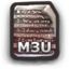 64x64px size png icon of M3U