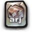 64x64px size png icon of ARJ
