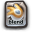 64x64px size png icon of Blend