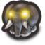 64x64px size png icon of Evil Elephant