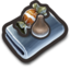 64x64px size png icon of Food me
