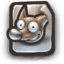64x64px size png icon of Gimp File