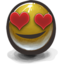 64x64px size png icon of In love