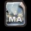 64x64px size png icon of MAYA Scene   .MA