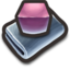 64x64px size png icon of Purple Cubes