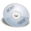 64x64px size png icon of cdrom blue