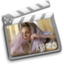 64x64px size png icon of folder movies alt