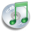 64x64px size png icon of folder music alt
