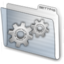64x64px size png icon of folder settings