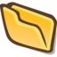 64x64px size png icon of Directory accept