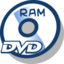 64x64px size png icon of Disc dvd ram