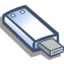 64x64px size png icon of Removable usb