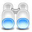 64x64px size png icon of Binoculars