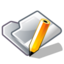 64x64px size png icon of Folder txt