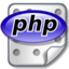 64x64px size png icon of Source php