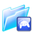 64x64px size png icon of game folder