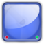 64x64px size png icon of hd blue