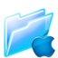 64x64px size png icon of mac folder