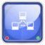 64x64px size png icon of net drive online