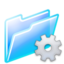 64x64px size png icon of program folder