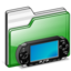64x64px size png icon of folder PSP