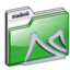 64x64px size png icon of folder madeck