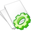 64x64px size png icon of Documents white exec