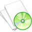 64x64px size png icon of Documents white music
