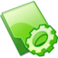 64x64px size png icon of Folder exec
