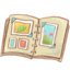 64x64px size png icon of Hp artbook
