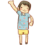 64x64px size png icon of Hp boy