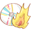 64x64px size png icon of Hp burn