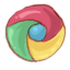 64x64px size png icon of Hp chrome