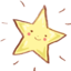 64x64px size png icon of Hp fav star