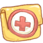 64x64px size png icon of Hp folder backup