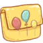 64x64px size png icon of Hp folder balloons