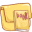 64x64px size png icon of Hp folder book