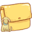 64x64px size png icon of Hp folder dog