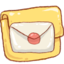 64x64px size png icon of Hp folder mail