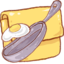 64x64px size png icon of Hp folder recipe