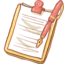 64x64px size png icon of Hp notepad2 pen