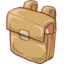64x64px size png icon of Hp schoolbag