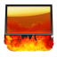 64x64px size png icon of Hell Computer