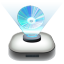 64x64px size png icon of BlueRay Drive